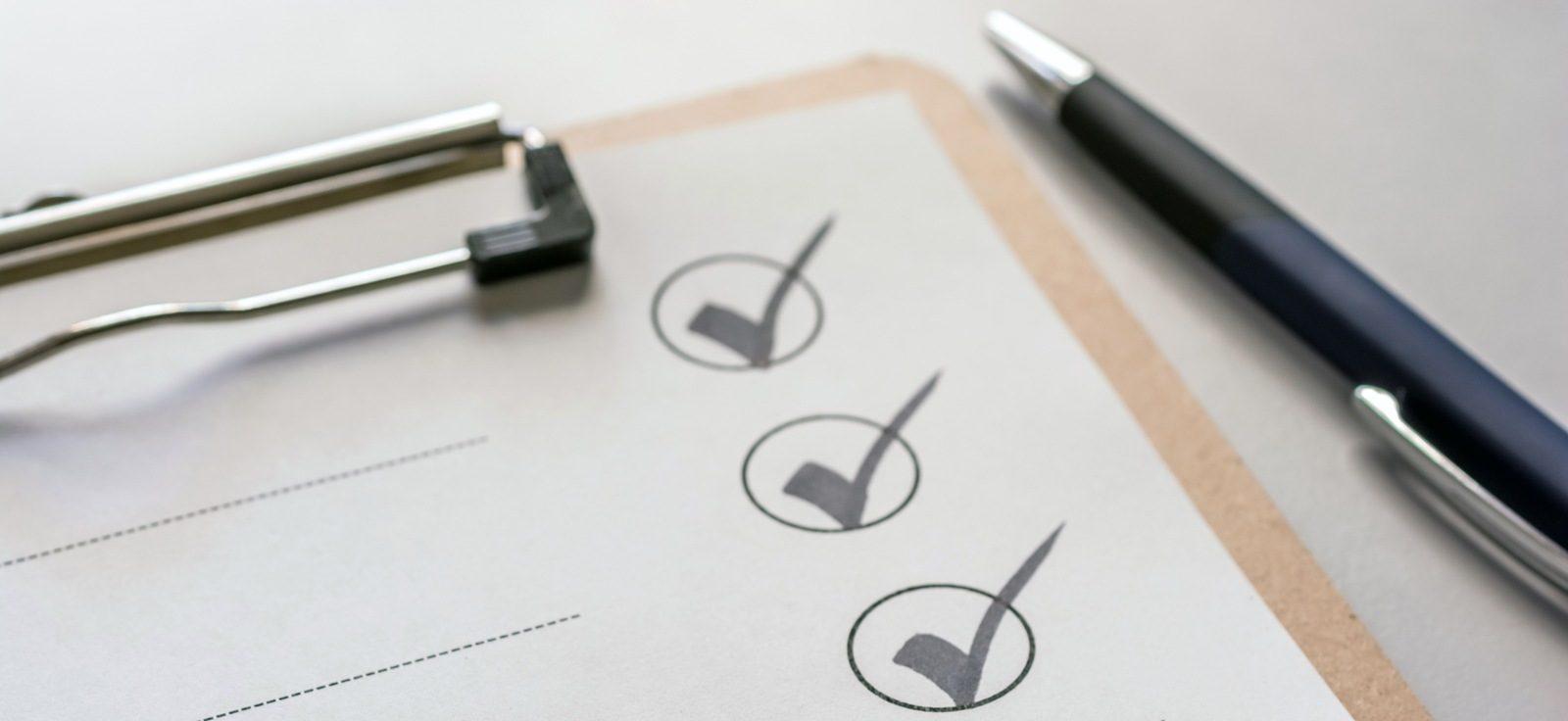 checklist contrat construction