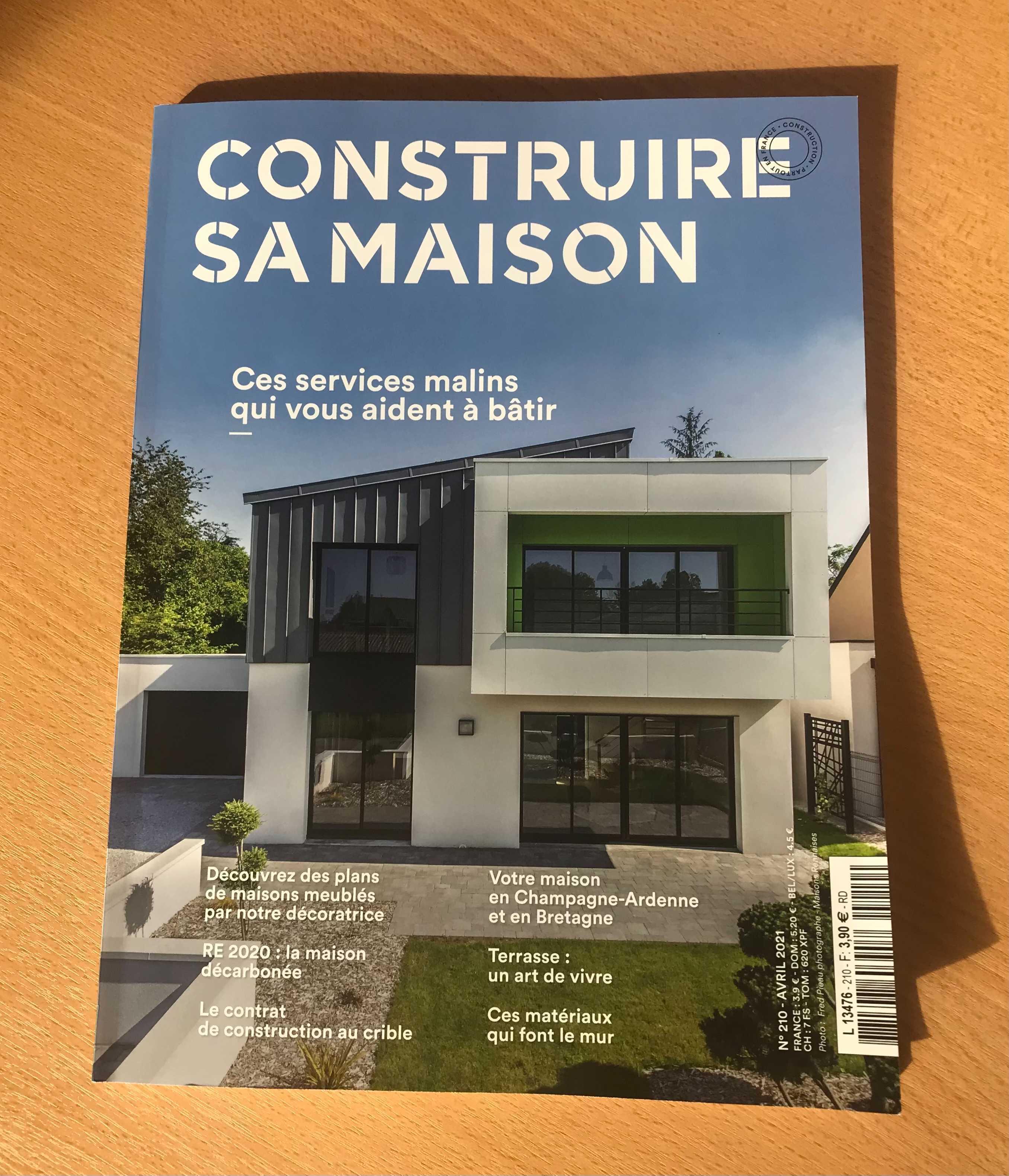 Les Maisons Rennaises en couverture du magazine