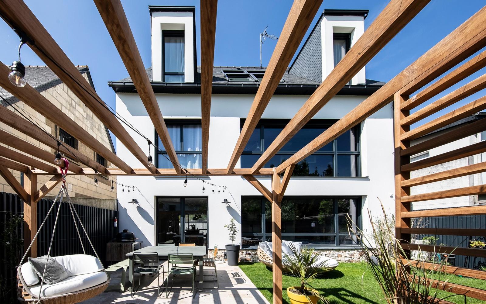 Maison moderne avec jardin à Rennes