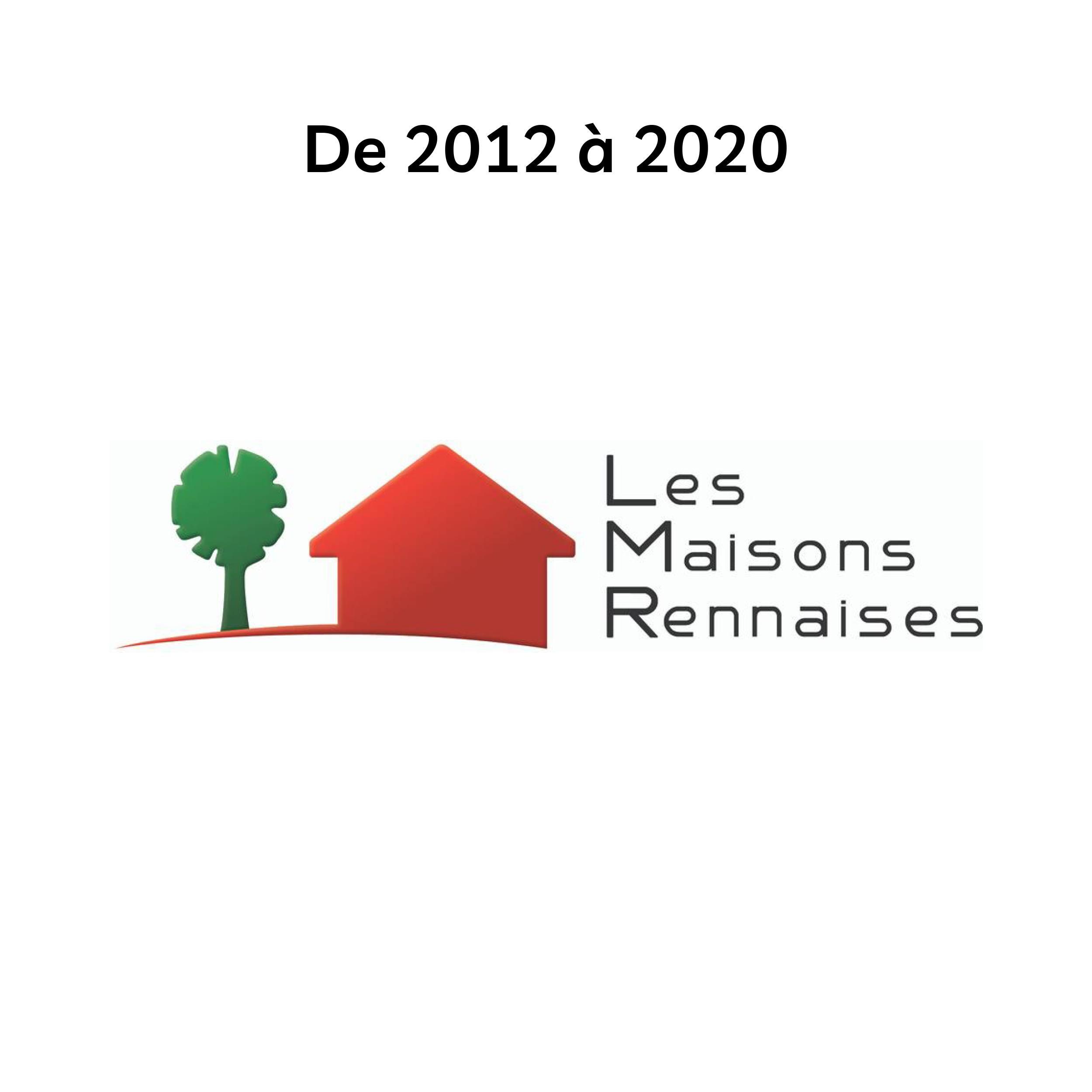 Logo des Maisons Rennaises de 2012 à 2020