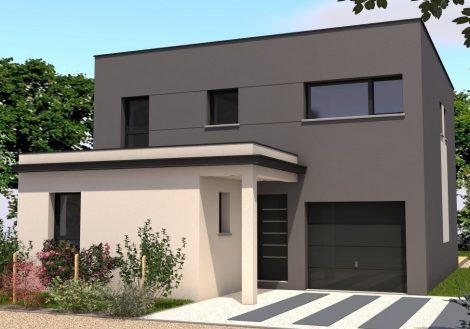 Maison moderne à Saint-Berthevin