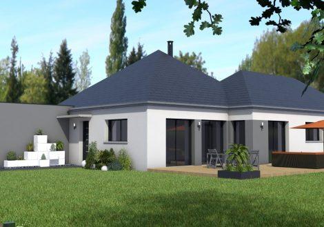 Maison de plain-pied à Bonchamp-lès-Laval