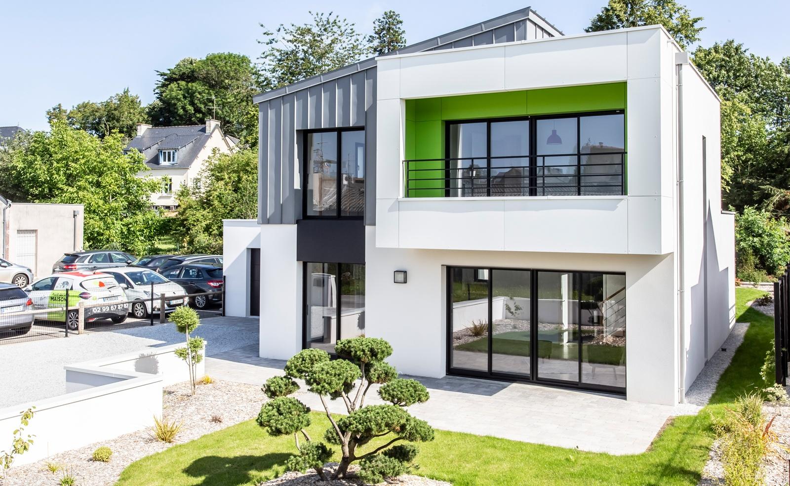 Belle maison contemporaine dans le Morbihan