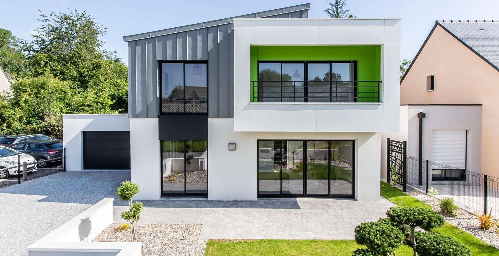 Maison contemporaine sur-mesure à Ploërmel