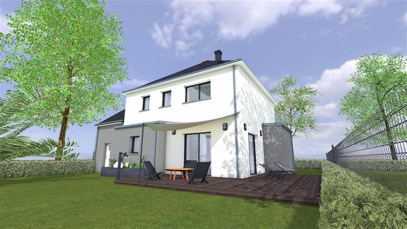 Perspective Maisons Rennaises - Maison à VILDÉ-GUINGALAN
