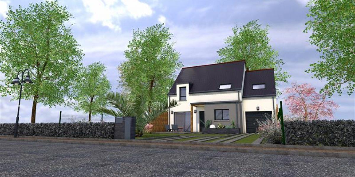Perspective Maisons Rennaises - Maison à TADEN