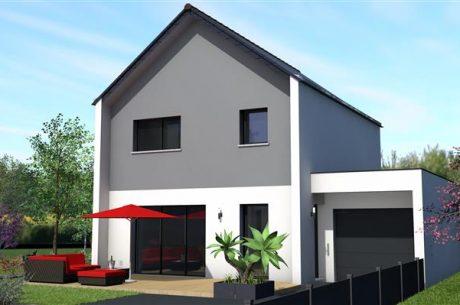 Perspective Maisons Rennaises - Maison+Terrain à LANGUENAN