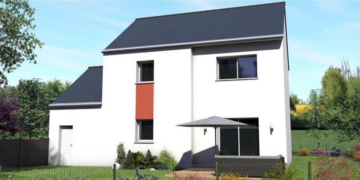 Perspective Maisons Rennaises - Maison+Terrain à PLESDER