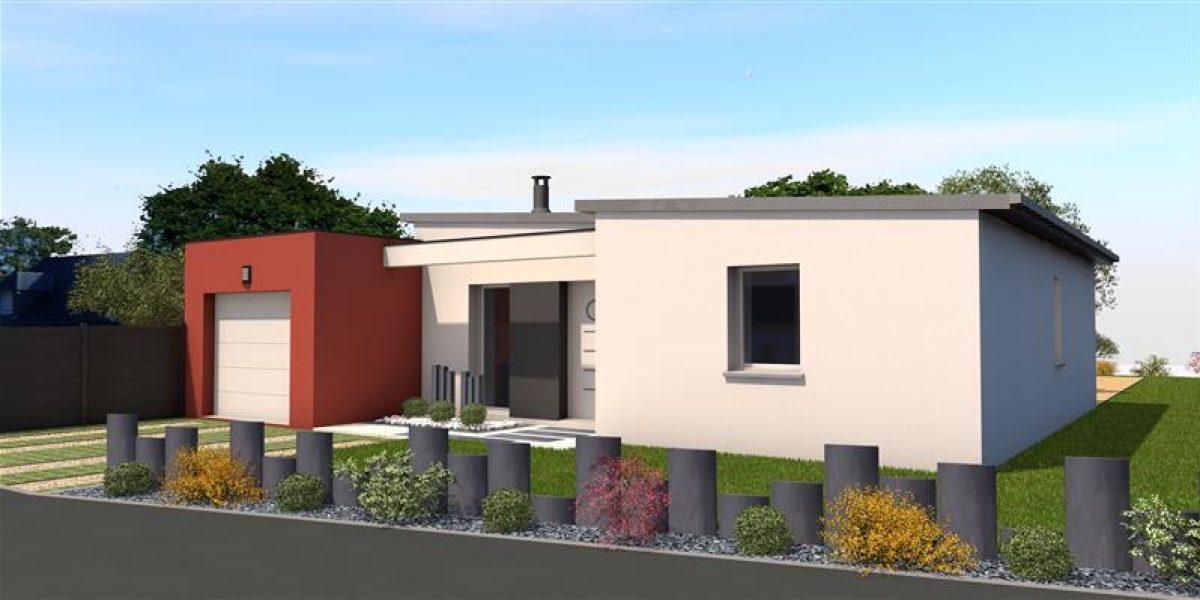 Perspective Maisons Rennaises - Maison à PLANCOËT
