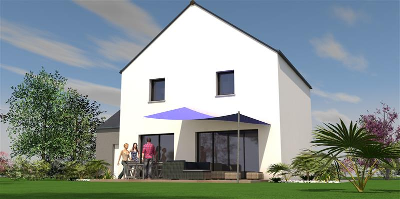 Perspective Maisons Rennaises - Maison à LOUVIGNÉ-DE-BAIS