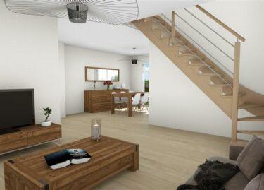 Perspective Maisons Rennaises - Maison à SAINT-CARNÉ