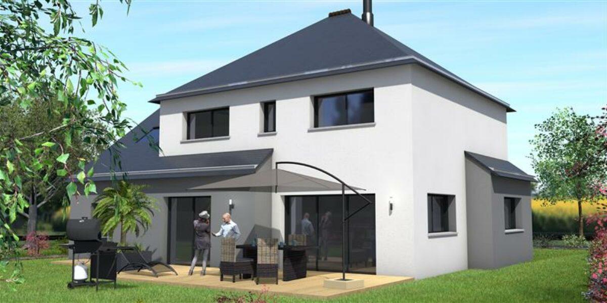 Perspective Maisons Rennaises - Maison à PLOUËR-SUR-RANCE