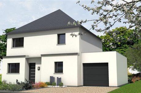 Perspective Maisons Rennaises - Maison à SAINT-AUBIN-DES-LANDES